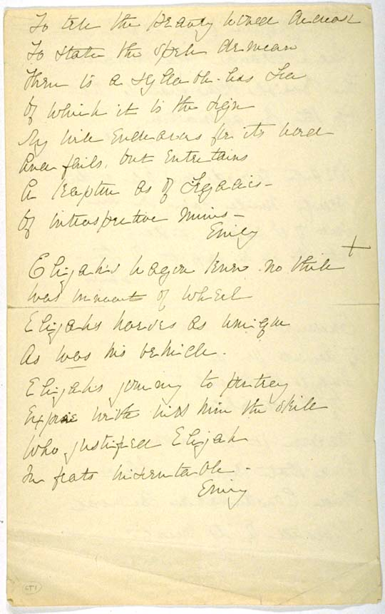 an analysis of 712 a poem by emily dickinson An essay or paper on analysis of emily dickinson this study will examine the poem which begins she rose to his requirement - dropt, by emily dickinson (also known as poem.