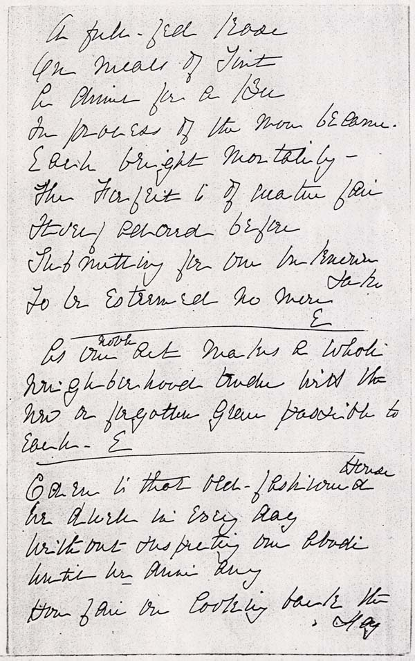 an analysis of dickinsons poem the soul selects her own society The soul selects her own society -the soul chooses what's best for oneself and has to shut out our poem connects with the essay on dickinson's life in.